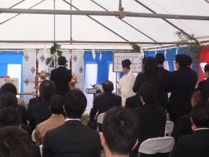 アーバンパレット港川学園通り新築工事(起工式)06