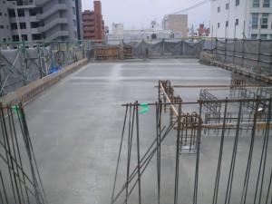 泊陽ビル新築工事棟上式06