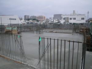 泊陽ビル新築工事棟上式07