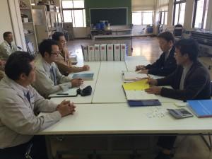 伊平屋村産業連携拠点センター建築工事竣工検査01