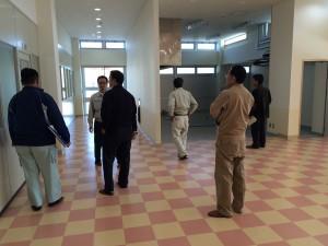 伊平屋村産業連携拠点センター建築工事竣工検査05