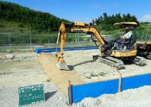 002 赤土流出防止柵設置状況