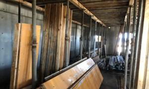 03 8階壁解体状況