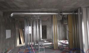 08 5階電気、設備配管状況
